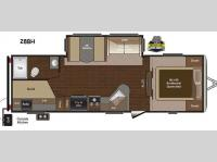 Floorplan - 2015 Keystone RV Sprinter Campfire Edition 28BH