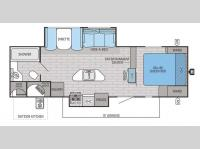 Floorplan - 2015 Jayco White Hawk 28RBKS