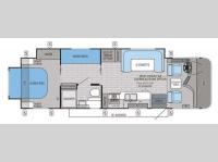 Floorplan - 2015 Jayco Precept 29UR