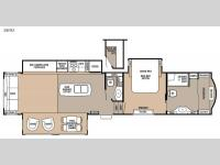 Floorplan - 2015 Forest River RV Cedar Creek 38FB2