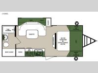 Floorplan - 2015 Forest River RV Surveyor 220RBS