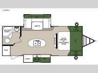 Floorplan - 2015 Forest River RV Surveyor 226RBDS
