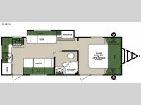 Floorplan - 2015 Forest River RV Surveyor 264RKS