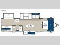 Floorplan - 2015 Forest River RV Surveyor 321BHTS