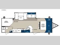 Floorplan - 2015 Forest River RV Surveyor 291BHSS