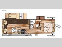 Floorplan - 2015 Forest River RV Salem 28RLDS