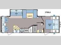 Floorplan - 2015 Dutchmen RV Coleman Lantern Series 270RLS