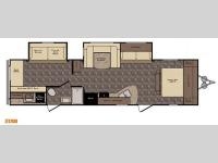 Floorplan - 2016 CrossRoads RV Z 1 ZT328SB