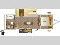 Floorplan - 2016 CrossRoads RV Hill Country HCT26RB