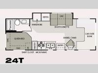 Floorplan - 2007 Four Winds RV Four Winds 5000 24T