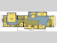 Floorplan - 2006 Newmar Dutch Star DSDP 4028