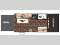 Floorplan - 2016 Forest River RV Cherokee Wolf Pup 17RP
