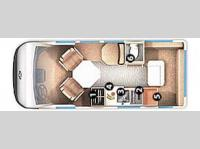 Floorplan - 2007 Roadtrek - 170 Popular 170-Popular