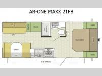 Floorplan - 2016 Starcraft AR-ONE MAXX 21FB