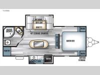 Floorplan - 2016 Forest River RV Salem 23RBS
