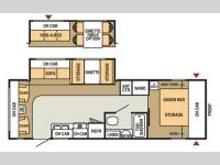 Floorplan - 2007 Starcraft  Homestead LITE 262RLS