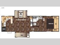 Floorplan - 2016 Forest River RV Cherokee 255P