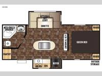 Floorplan - 2016 Forest River RV Cherokee 204RB