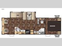 Floorplan - 2016 Forest River RV Cherokee 264L