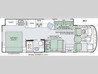 Floorplan - 2016 Thor Motor Coach ACE 29.3
