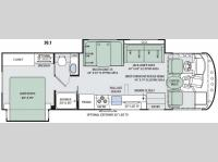 Floorplan - 2016 Thor Motor Coach ACE 30.1