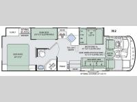 Floorplan - 2016 Thor Motor Coach ACE 30.2