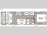 Floorplan - 2016 Palomino Puma 25-RS