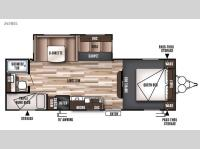 Floorplan - 2016 Forest River RV Wildwood 26TBSS