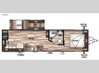 Floorplan - 2016 Forest River RV Wildwood 27RKSS
