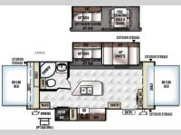 Floorplan - 2016 Forest River RV Rockwood Roo 23IKSS