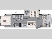 Floorplan - 2016 Forest River RV FR3 28DS