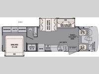 Floorplan - 2016 Forest River RV FR3 30DS