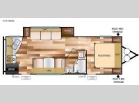 Floorplan - 2016 Forest River RV Wildwood X-Lite 231RKXL