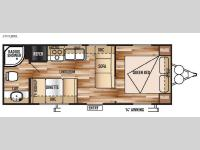 Floorplan - 2016 Forest River RV Wildwood X-Lite 241QBXL