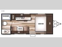 Floorplan - 2016 Forest River RV Wildwood X Lite FS 175FB