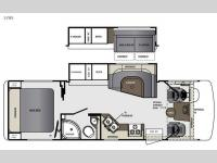 Floorplan - 2016 Forest River RV Georgetown 270S