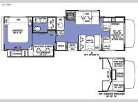Floorplan - 2016 Forest River RV Sunseeker 3170DS Ford