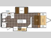 Floorplan - 2016 Prime Time RV Tracer Air 238AIR
