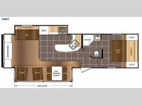 Floorplan - 2016 Prime Time RV Avenger 32RED