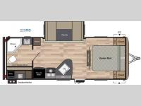 Floorplan - 2016 Keystone RV Springdale 225RB