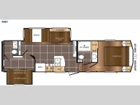 Floorplan - 2016 Prime Time RV Crusader LITE 30BH