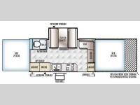 Floorplan - 2016 Forest River RV Flagstaff High Wall HW31SCTH