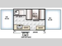 Floorplan - 2016 Forest River RV Rockwood Freedom Series 1940LTD