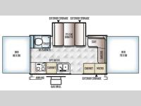 Floorplan - 2016 Forest River RV Rockwood High Wall Series HW276