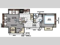 Floorplan - 2016 Forest River RV Rockwood Signature Ultra Lite 8289WS