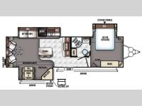 Floorplan - 2016 Forest River RV Rockwood Signature Ultra Lite 8329SS