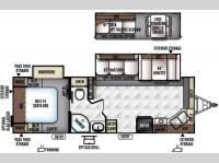 Floorplan - 2016 Forest River RV Rockwood Ultra Lite 2608WS