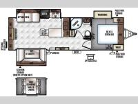Floorplan - 2016 Forest River RV Rockwood Ultra Lite 2703WS