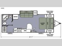 Floorplan - 2015 Coachmen RV Apex Ultra-Lite 239RBS