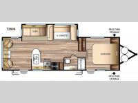 Floorplan - 2016 Forest River RV EVO T2600